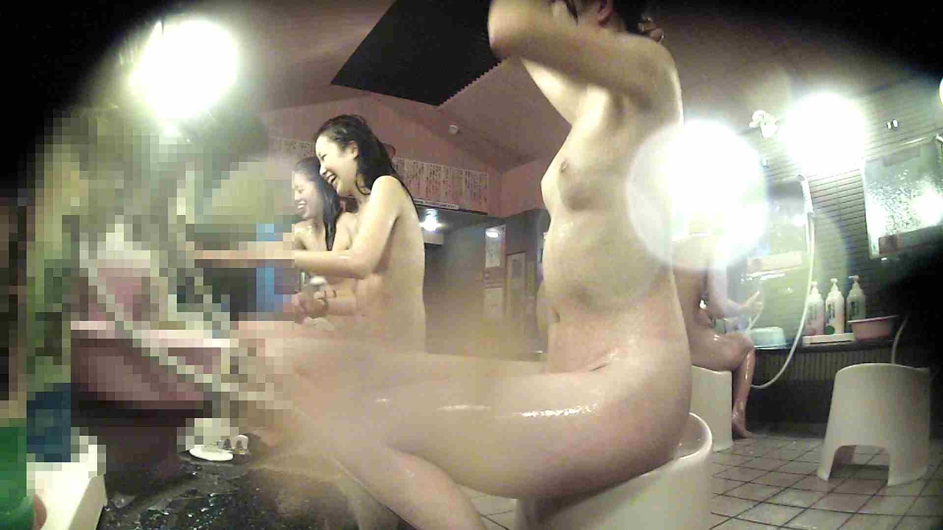 巨乳おまんこ:洗い場!お股の洗い方に好感が持てるお嬢さん:怪盗ジョーカー