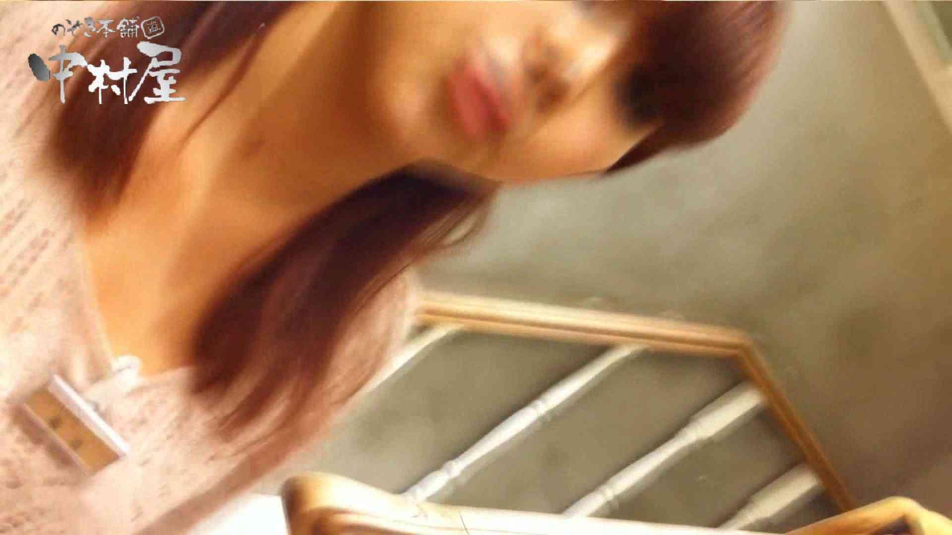 巨乳おまんこ:vol.56 美人アパレル胸チラ&パンチラ メガネオネーサマの下着:のぞき本舗 中村屋