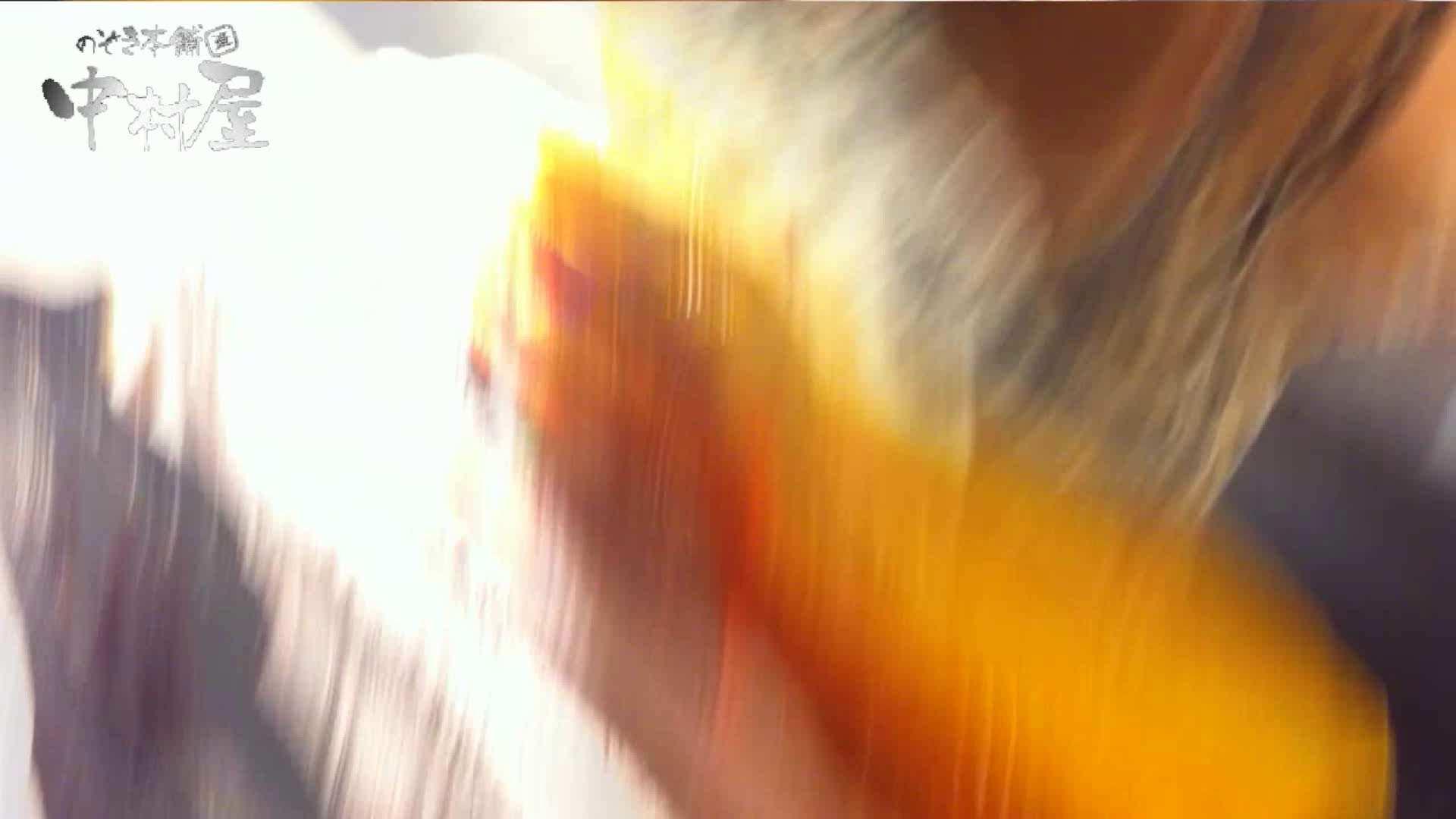 vol.66 美人アパレル胸チラ&パンチラ 店員さんのパンツはストライプ 接写  111PIX 40