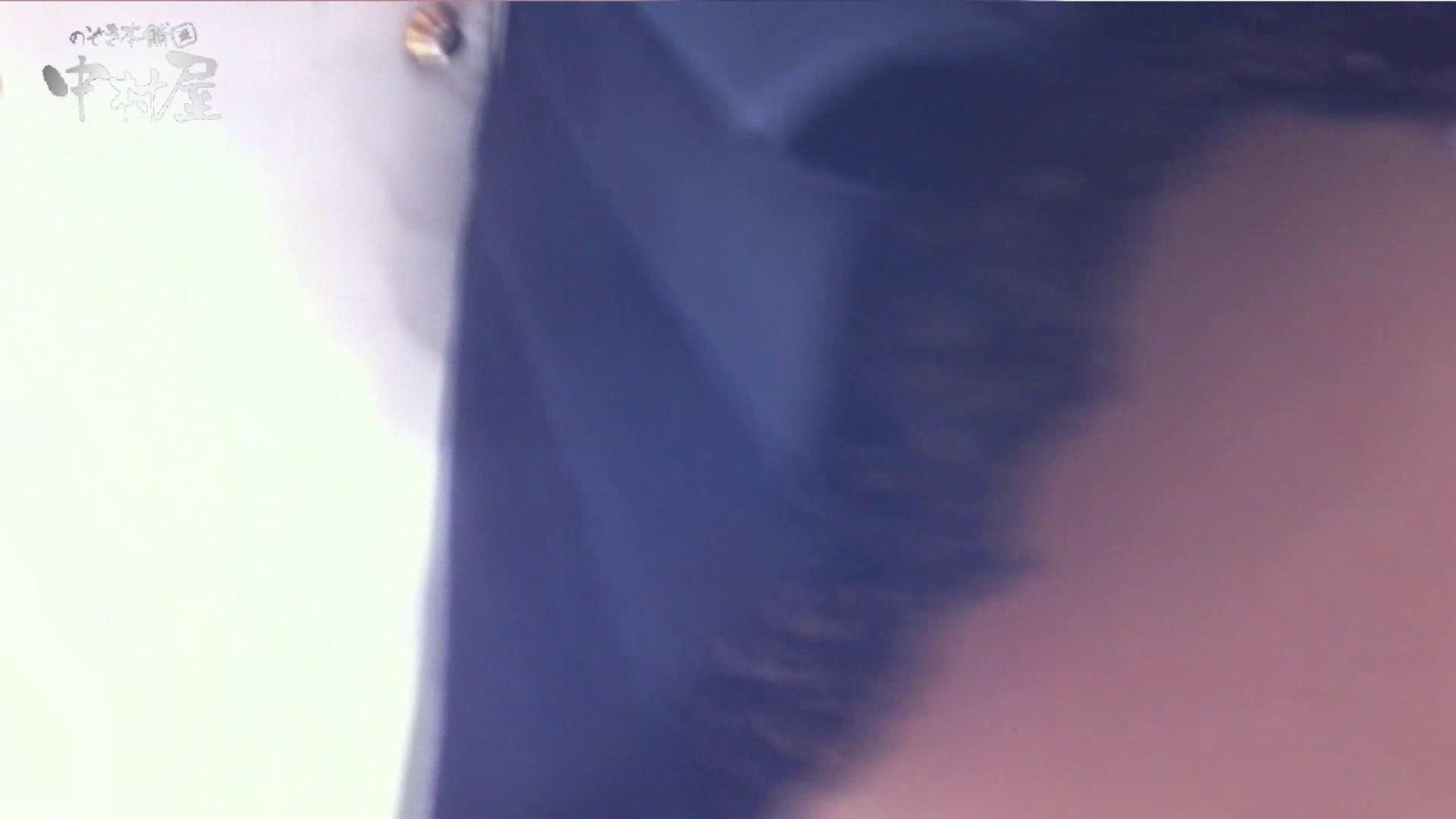 vol.75 美人アパレル胸チラ&パンチラ きれいな髪のおねーさんはド派手パンツ 接写  83PIX 24