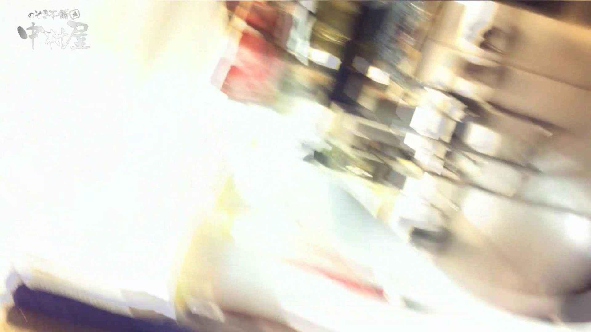 vol.75 美人アパレル胸チラ&パンチラ きれいな髪のおねーさんはド派手パンツ 接写   パンチラ  83PIX 81