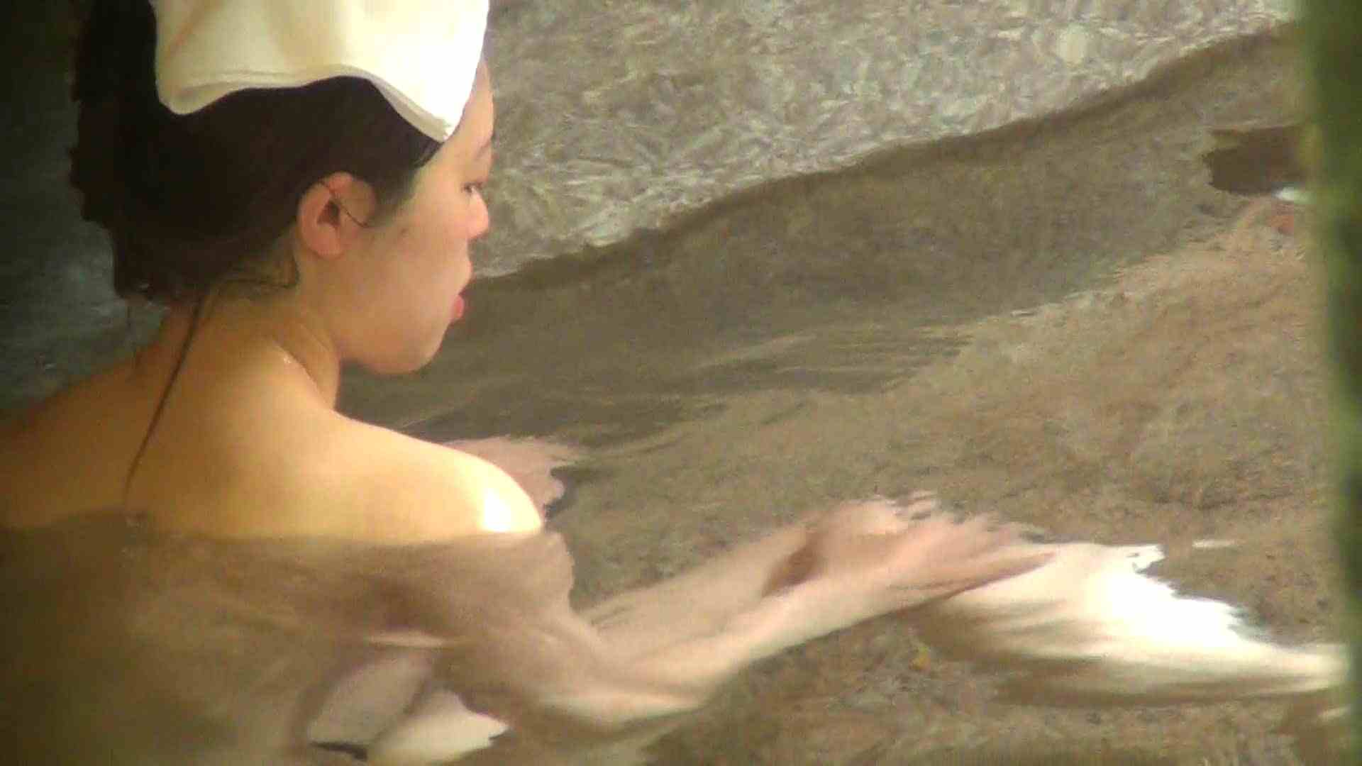 Aquaな露天風呂Vol.261 露天風呂編   盗撮シリーズ  77PIX 53