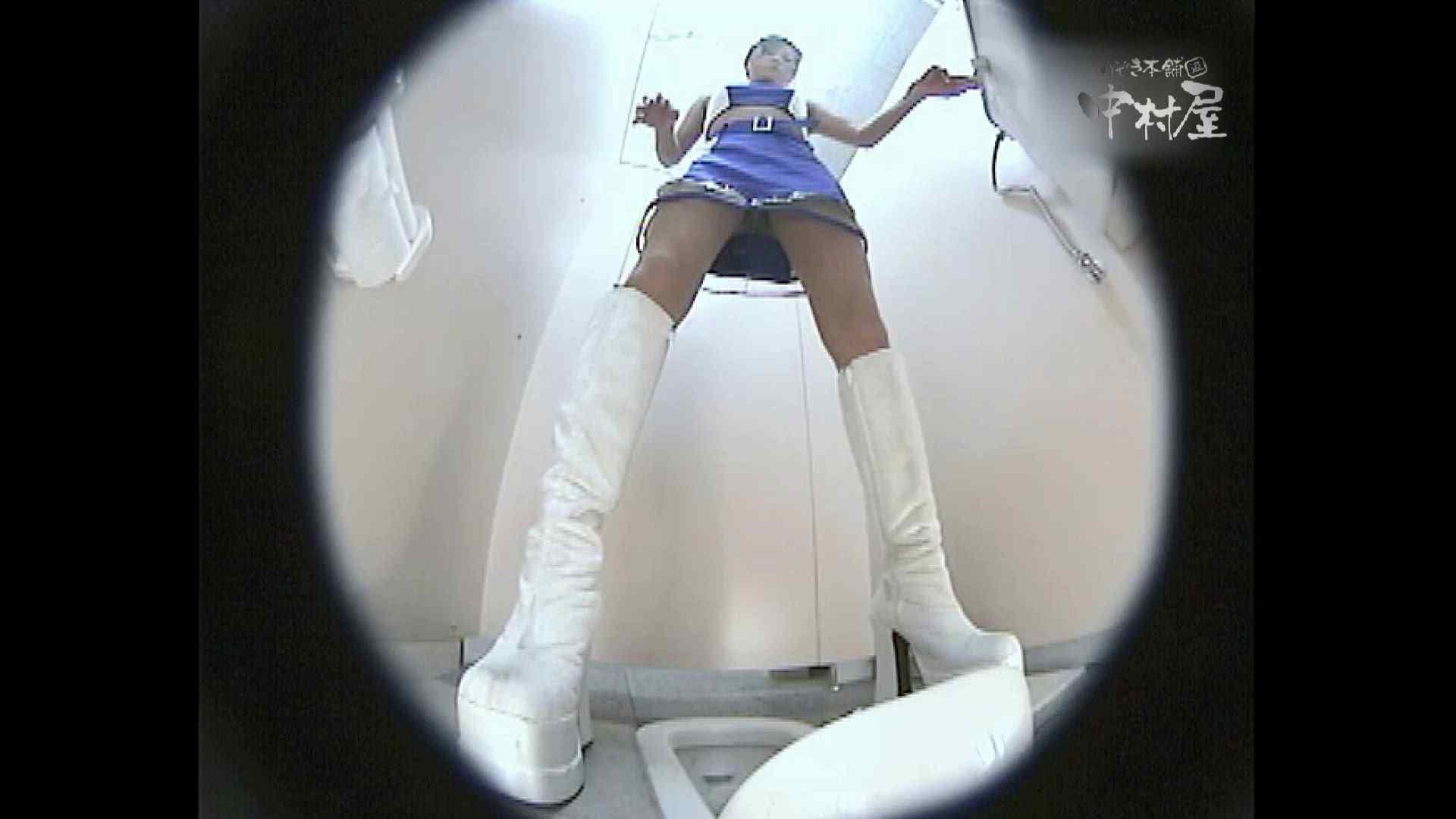 レースクィーントイレ盗撮!Vol.09 トイレ | 便器の中 盗撮 96PIX 64