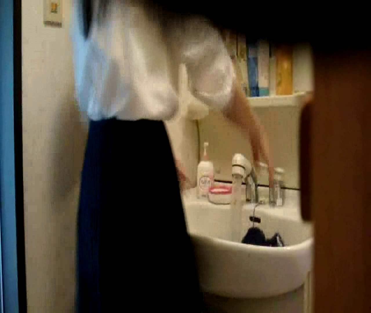 二人とも育てた甲斐がありました… vol.05 まどかが洗顔後にブラを洗濯 盗撮シリーズ | おまんこ見放題  79PIX 19