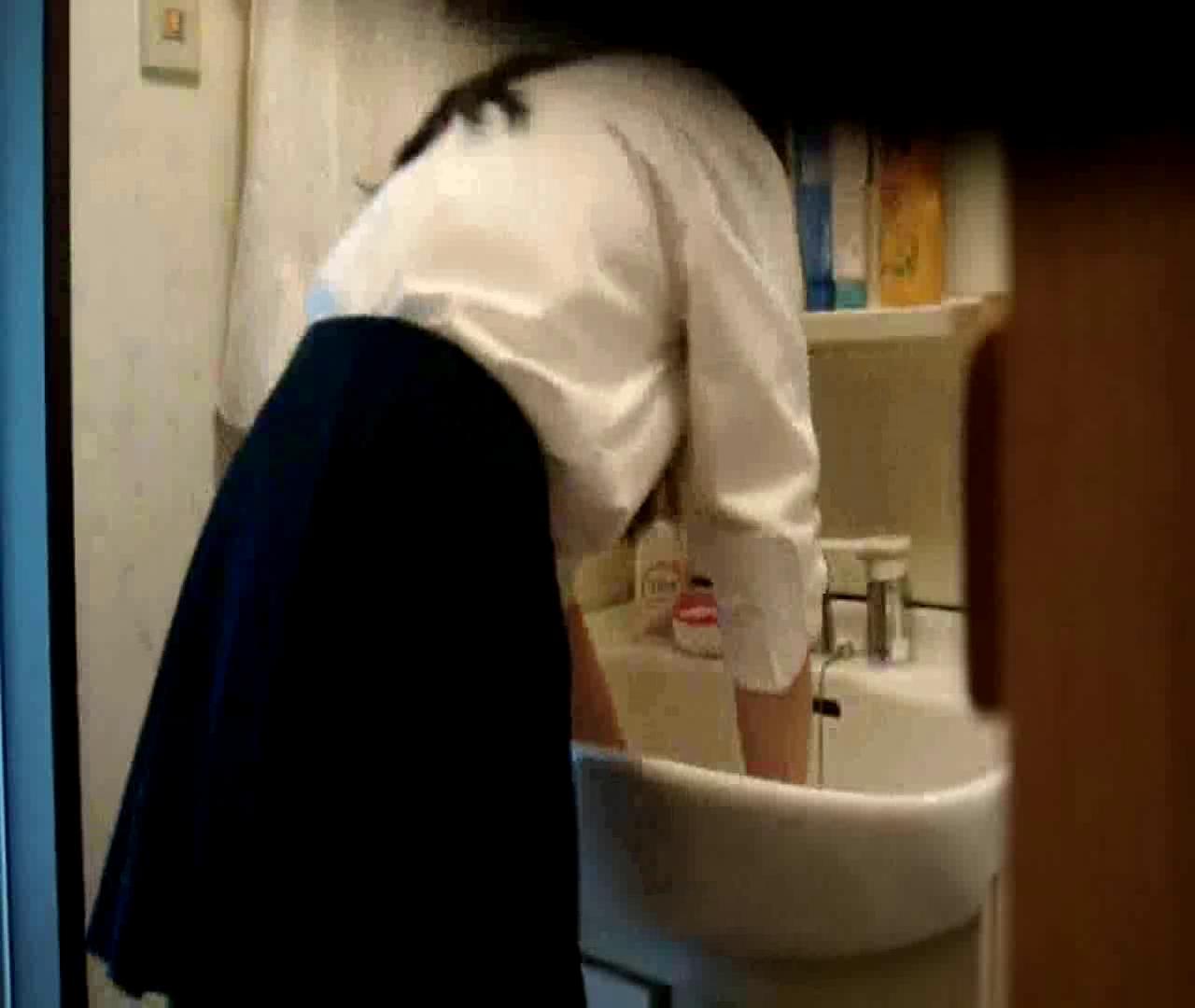 二人とも育てた甲斐がありました… vol.05 まどかが洗顔後にブラを洗濯 盗撮シリーズ  79PIX 56