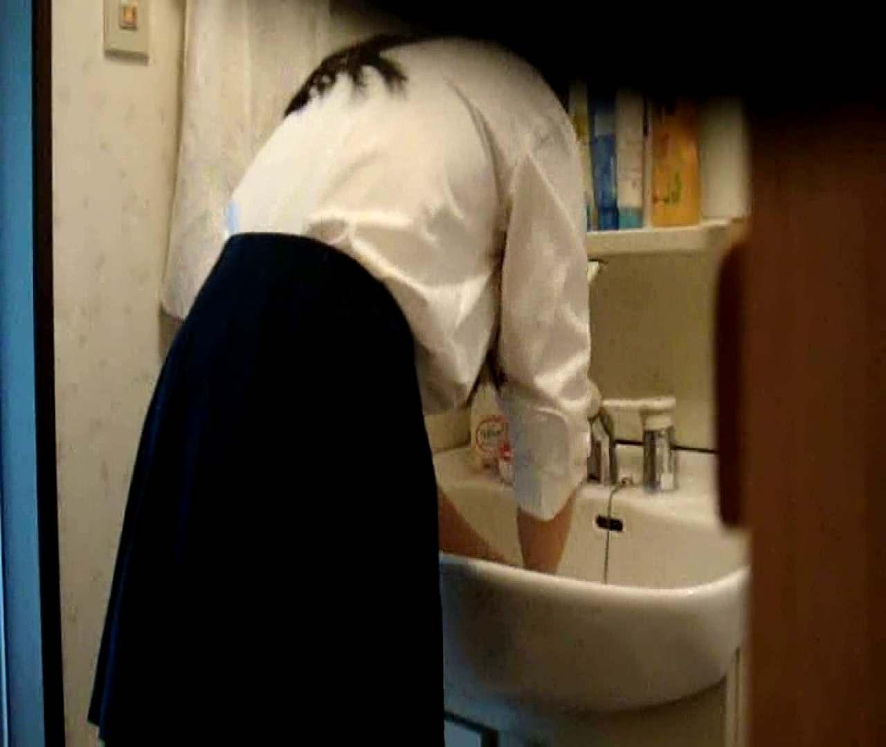 二人とも育てた甲斐がありました… vol.05 まどかが洗顔後にブラを洗濯 盗撮シリーズ | おまんこ見放題  79PIX 57