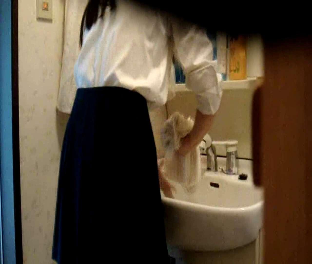 二人とも育てた甲斐がありました… vol.05 まどかが洗顔後にブラを洗濯 盗撮シリーズ | おまんこ見放題  79PIX 61