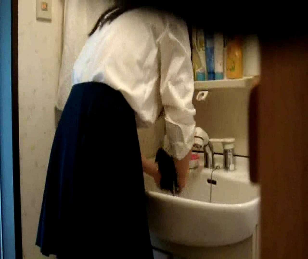二人とも育てた甲斐がありました… vol.05 まどかが洗顔後にブラを洗濯 盗撮シリーズ | おまんこ見放題  79PIX 67