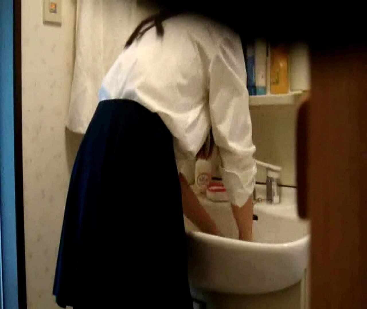 二人とも育てた甲斐がありました… vol.05 まどかが洗顔後にブラを洗濯 盗撮シリーズ  79PIX 76