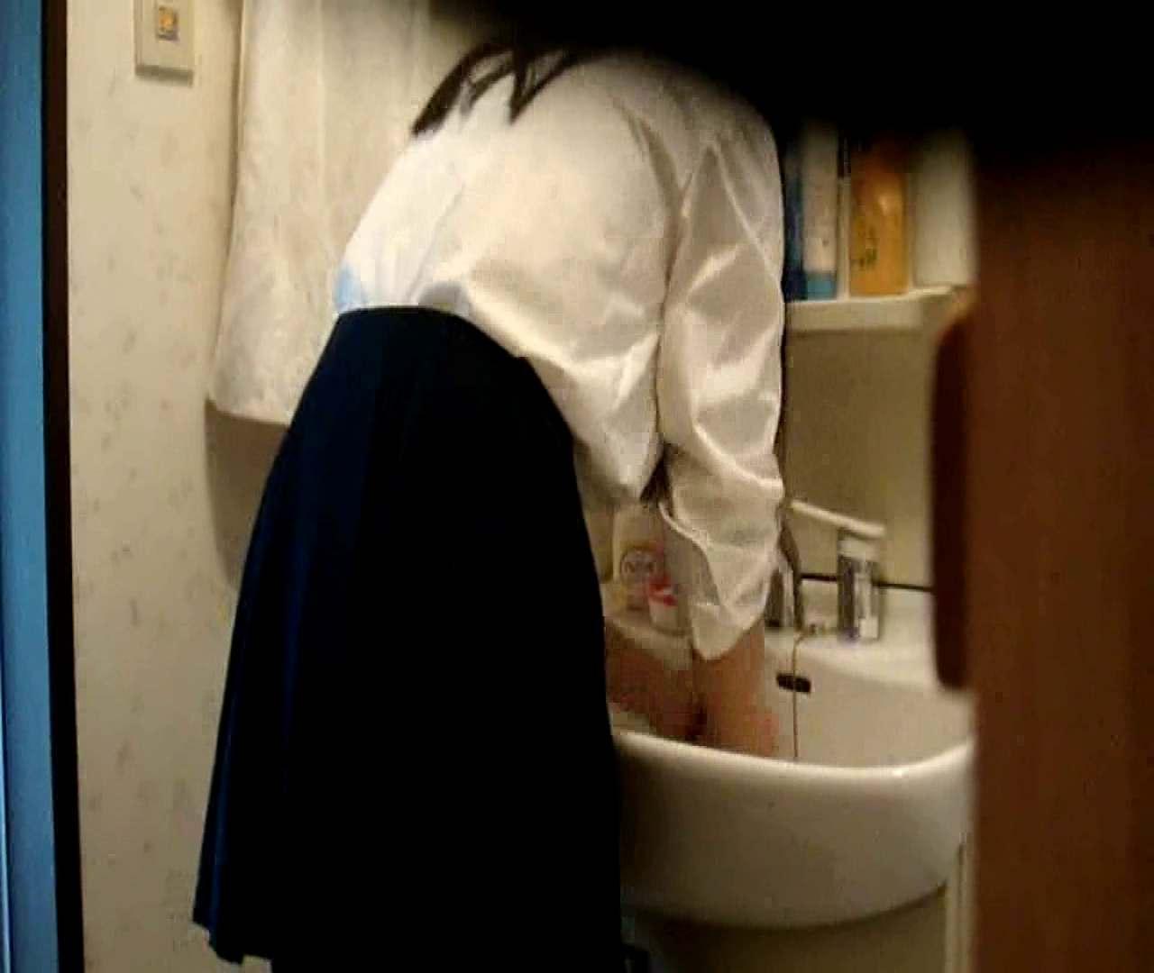 二人とも育てた甲斐がありました… vol.05 まどかが洗顔後にブラを洗濯 盗撮シリーズ | おまんこ見放題  79PIX 77