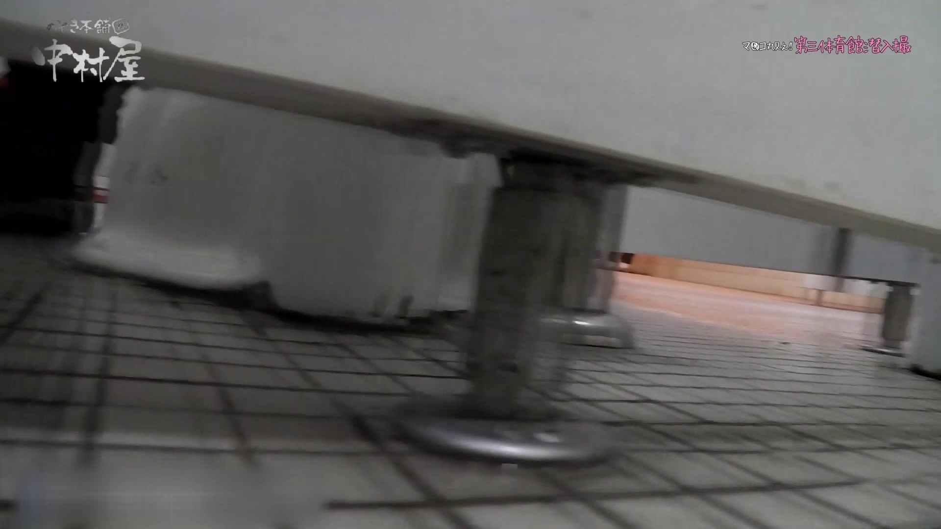 第三体育館File044長身のバレー部員が目の前の個室に入ってくれました。後編 女子トイレ編  106PIX 91