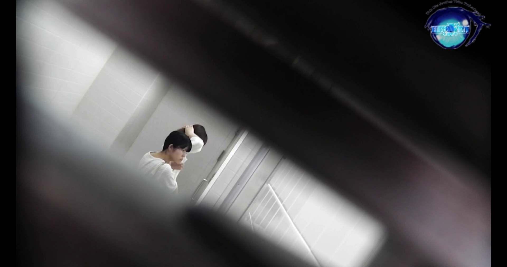 お銀さんの洗面所突入レポート!!vol.72 あのかわいい子がついフロント撮り実演 洗面所編 | バックショット  100PIX 15