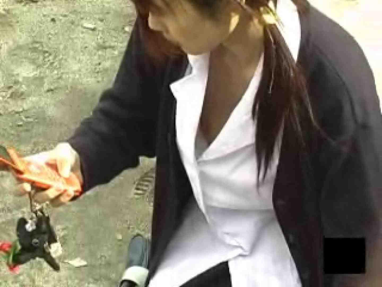 制服女子!!街頭乳首ウォッチング 制服編 AV無料動画キャプチャ 98PIX 74