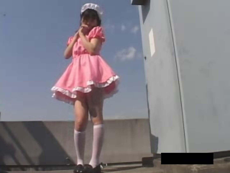 風の悪戯 メイドカフェ撮影現場 ギャルのエロ動画 おめこ無修正画像 109PIX 52