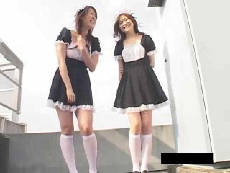 風の悪戯 メイドカフェ撮影現場 チラ 戯れ無修正画像 109PIX 63