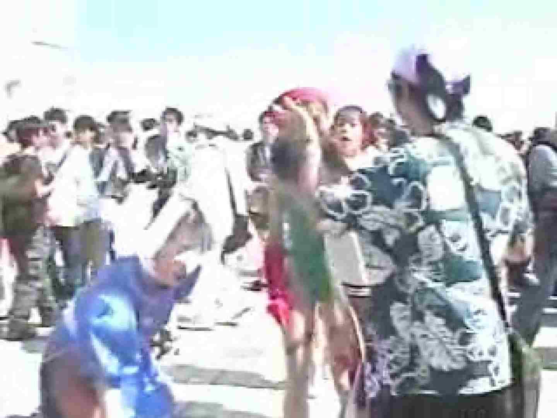 コスプレ会場 赤外線カメラで透け下着を見る JKブルマ えろ無修正画像 89PIX 44