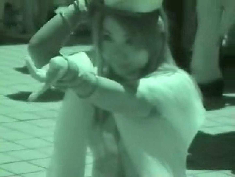 コスプレ会場 赤外線カメラで透け下着を見る エロいメイド ヌード画像 89PIX 58