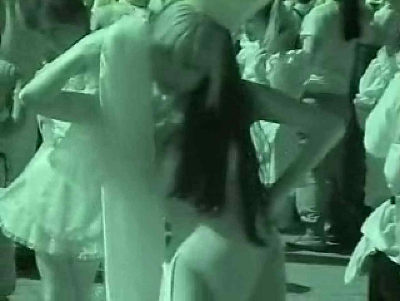 コスプレ会場 赤外線カメラで透け下着を見る エロいメイド ヌード画像 89PIX 88