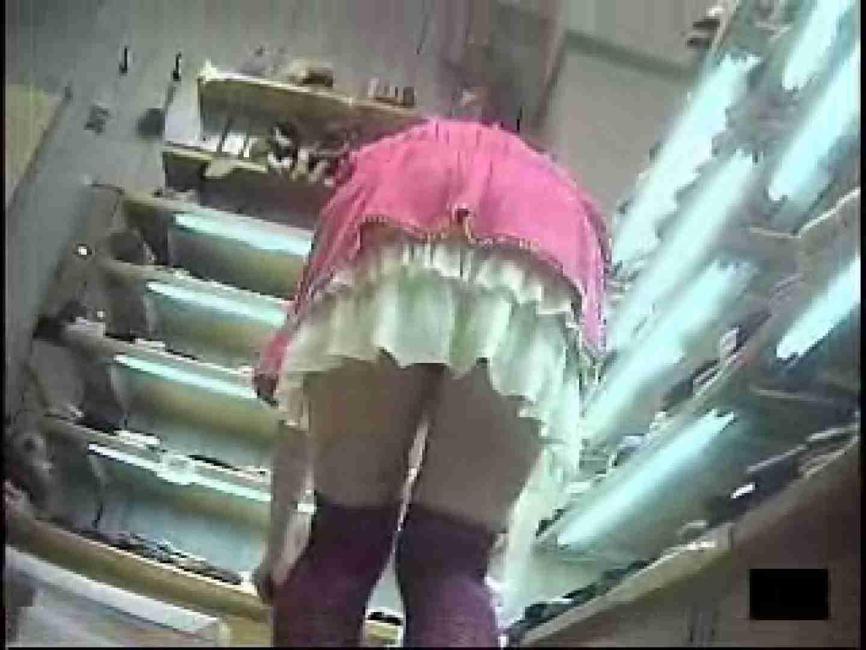 ショップ店員の卑猥なパンツ覗き チラ 盗み撮り動画 105PIX 64