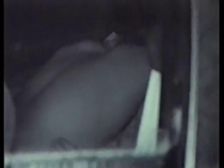 深夜密撮! 車の中の情事 全裸  113PIX 75