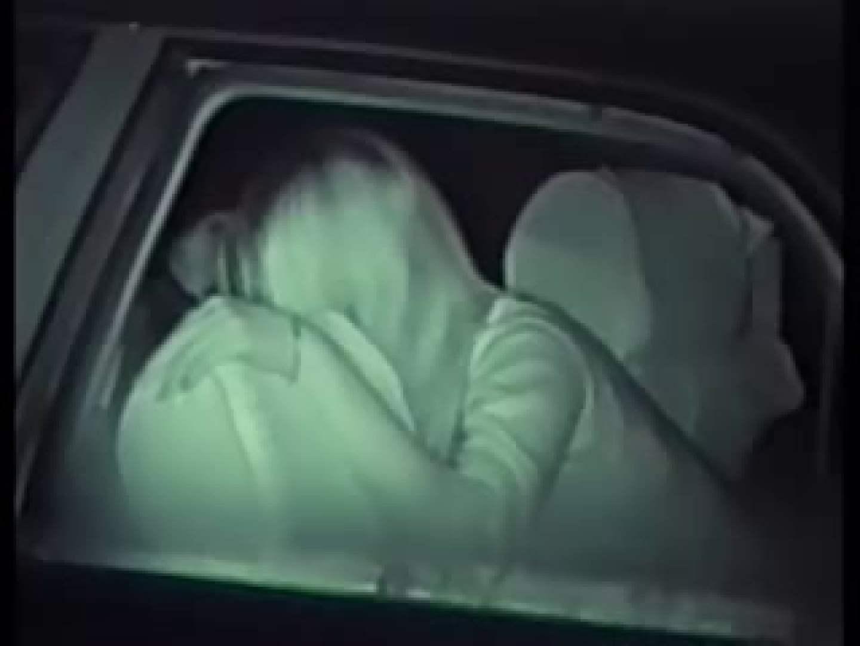 深夜密撮! 車の中の情事 全裸  113PIX 95