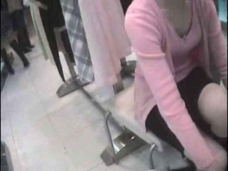 Hamans World ⑤店員さんシリーズⅡ おまけ特選映像 胸チラ | チラ  109PIX 37