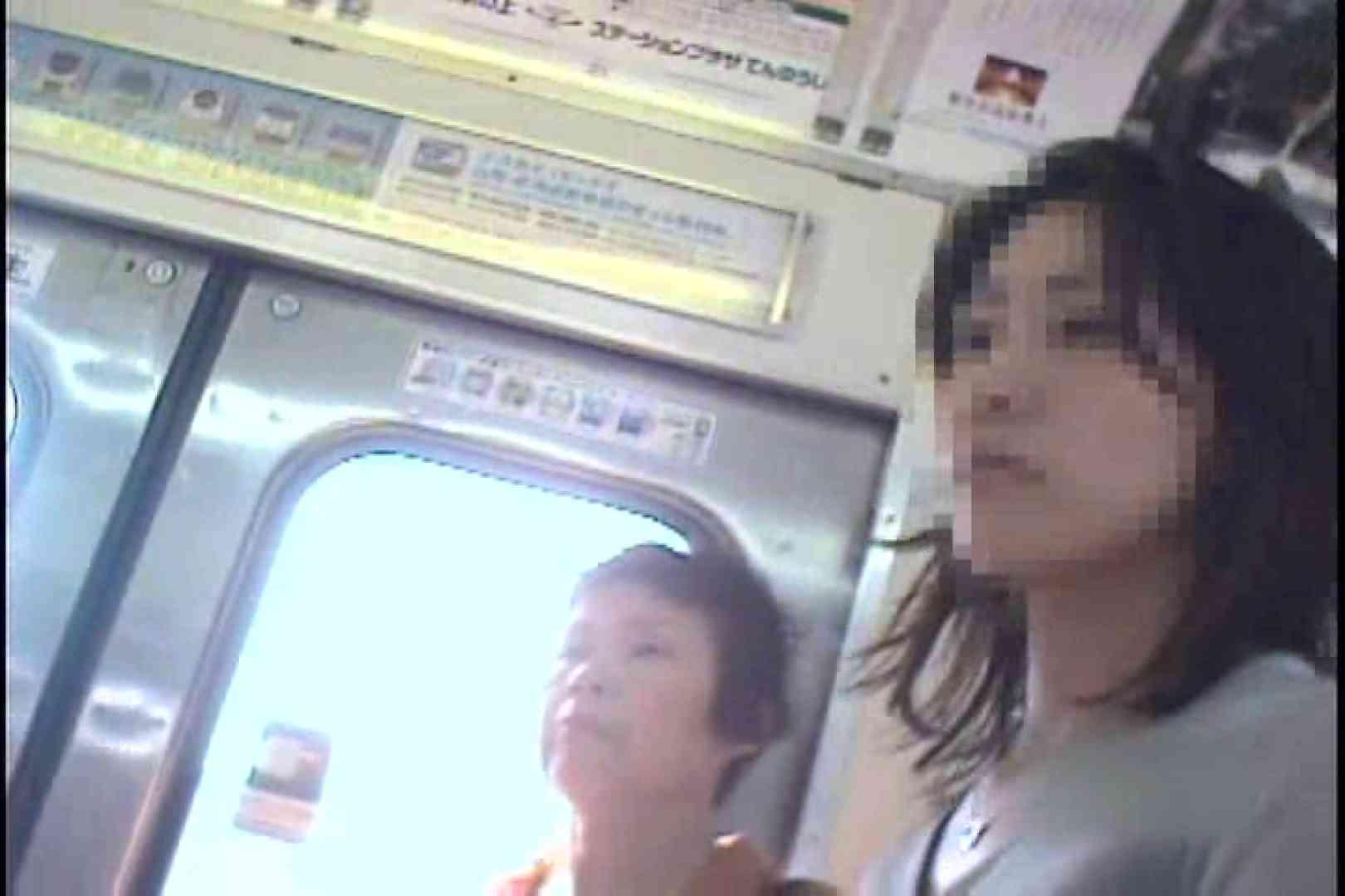 私鉄沿線美女限定パンティー丸覗き!!vol.01 車でエッチ  88PIX 64