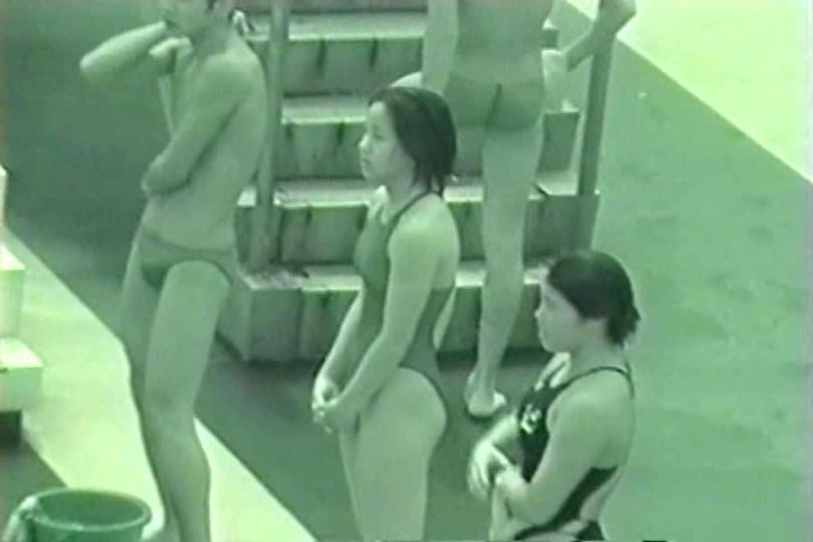 巨乳おまんこ:スケスケ競泳水着(ライティング)Vol.6:ピープフォックス(盗撮狐)